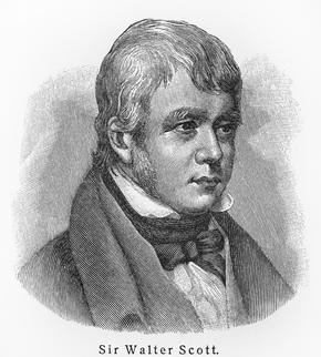 Portrait of Sir Walter Scott
