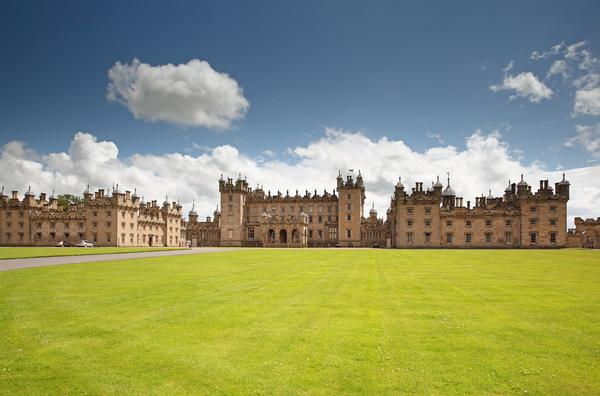 Floors Castle near Kelso in the Scottish Borders