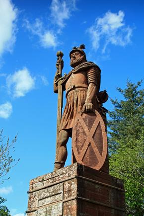 Statue of William Wallace, near Dryburgh, Scottish Borders