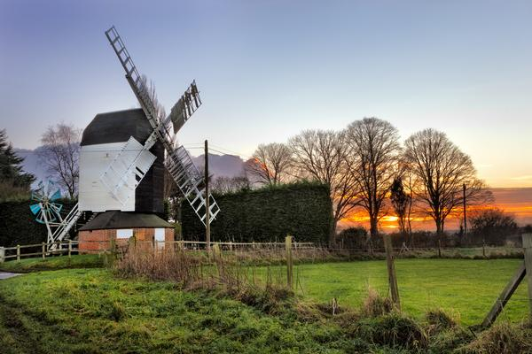 Cromer Windmill at Sunset