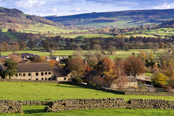 Swaledale in Yorkshire Dales North Yorkshire England