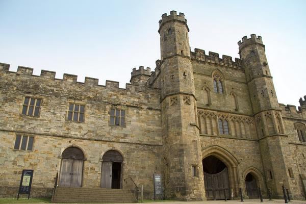 Impressive Entrance of Battle Abbey