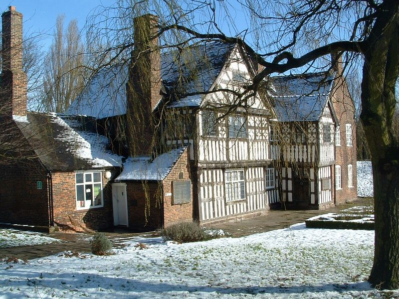 Ford Green Hall On Aboutbritain Com
