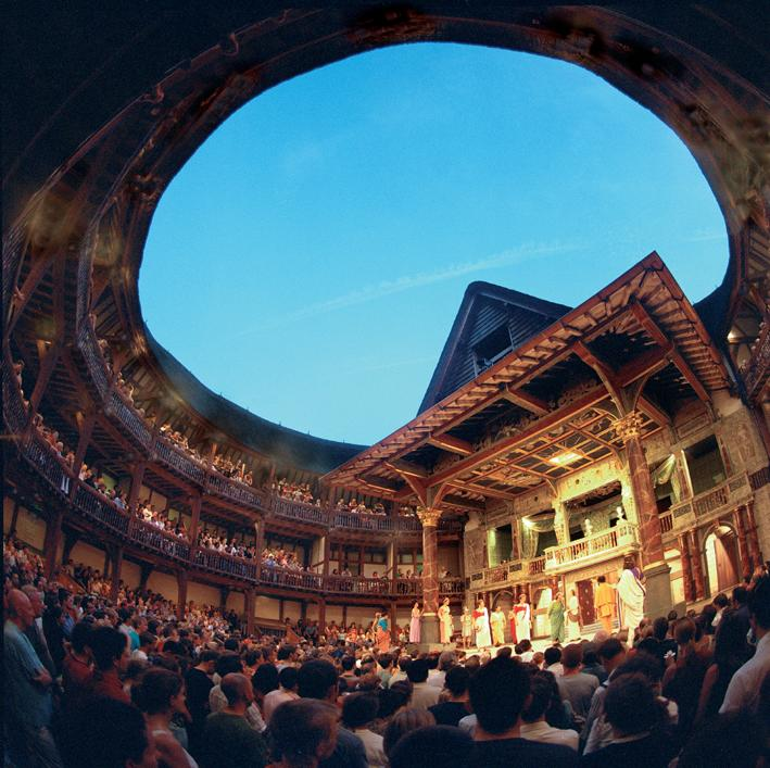 An overview of the history construction and design of globe theatre