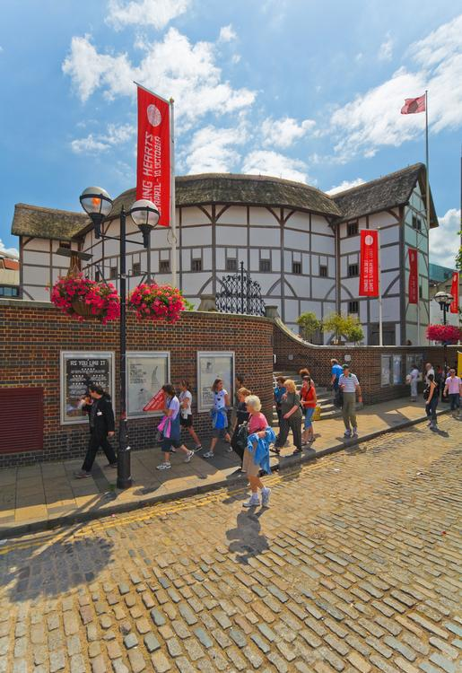 Old And New Globe Theatre 58