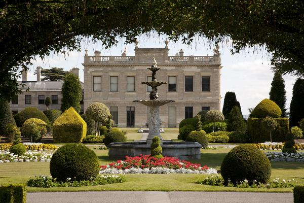 Brodsworth Hall, Gardens and Fountain, South Yorkshire, England