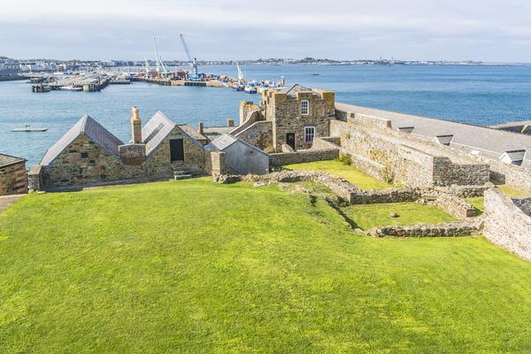 The Inner Courtyard at Castle Cornet