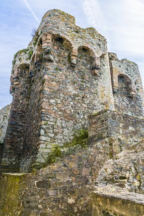 Tower at Castle Cornet, St Peter Port, Guernsey