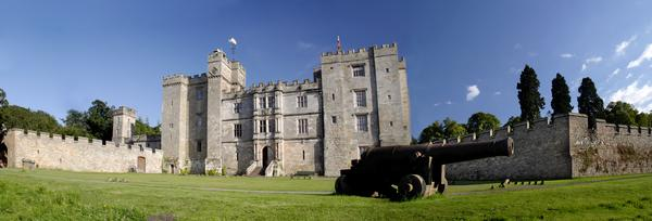 Exterior Panorama of Chillingham Castle