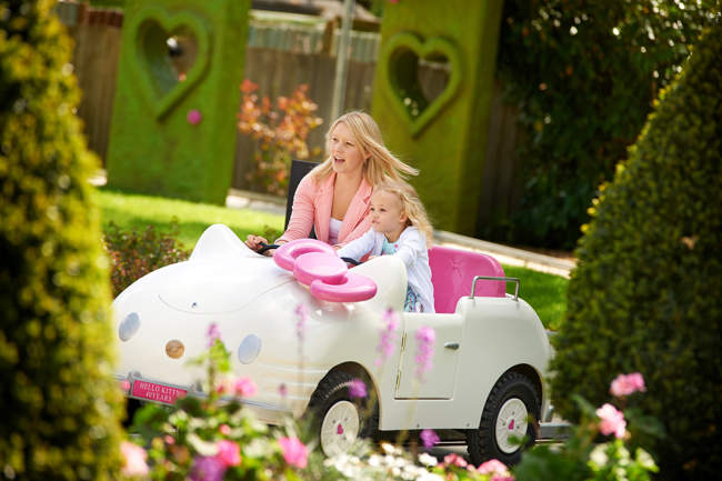Hello Kitty Car Ride