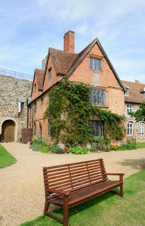 Old House at the Castle in Framlingham, Suffolk