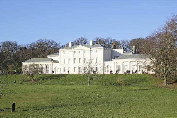 Kenwood House from a distance