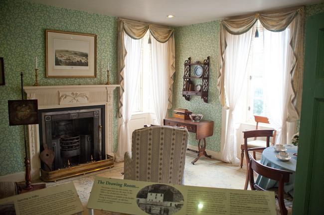Robert Owen's House - Drawing Room