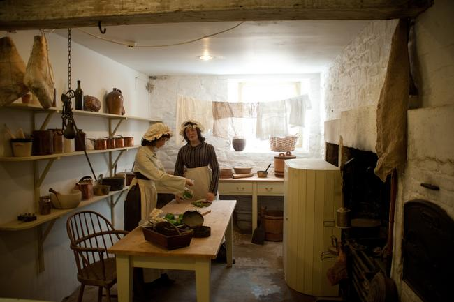 Kitchen in Robert Owen's House