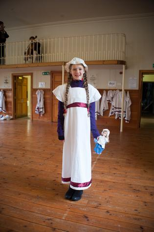 Dressing Up in the Schoolroom