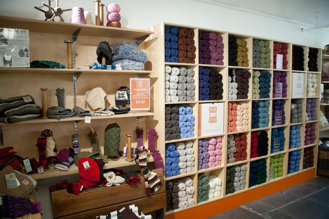 Wool in the Mill Shop