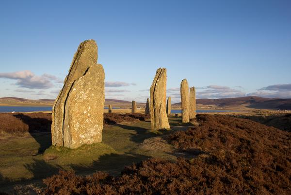 Ring Of Brodgar which us a World Heritage Site