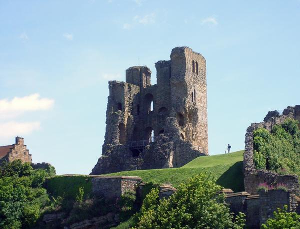 Scarborough Castle in North Yorkshire
