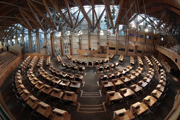 View from the rear of the Main Debating Chamber