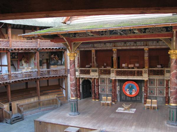 The theatre at Balcony Level