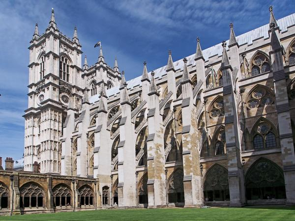 Flying Buttresses at Westminster Abbey