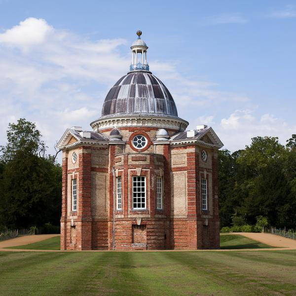 Rotunda in the garden at Wrest Park
