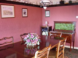 Edwardian dining room