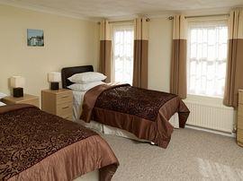Typical en-suite twin room