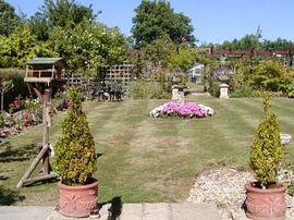 Windrush House - rear garden