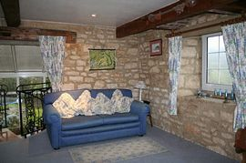 Lounge in Holiday Cottage