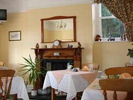 Our bright relaxing dining room