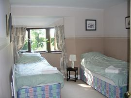 One of our twin rooms
