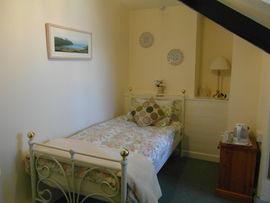 The single en-suite bedroom
