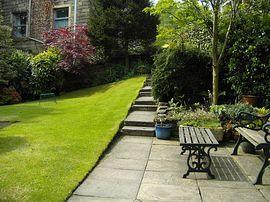 Garden/guest entrance