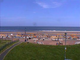Beach to rear