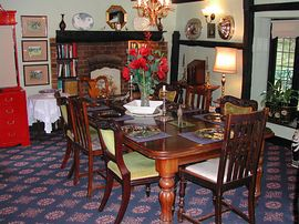 Our welcoming dining room