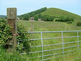 Tor Farm beneath the Hill
