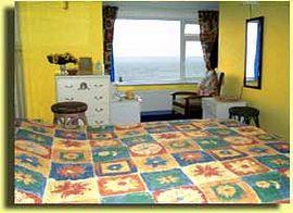 Family en-suite bedroom overlooking the sea