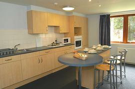 Queen Margaret Residence - Kitchen