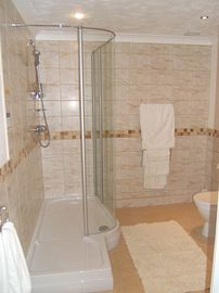 The Luxury shower room