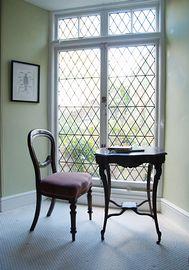 Georgian window to garden