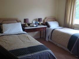 sample double bedroom