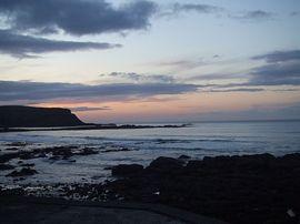 Evening sky Pennan
