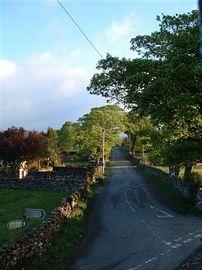 Main road Melmerby