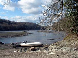St Winnow, nearby river walk