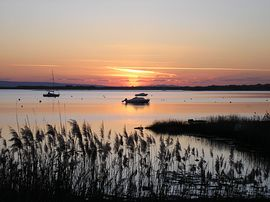 Sunset Mudeford