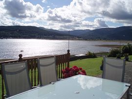Glen Lean from the decking