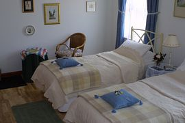 Spacious superior bedroom