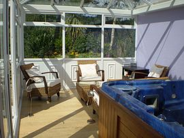 The Summer House and Hot Tub