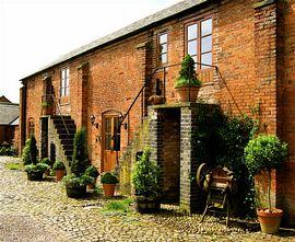 Abbey farm house.